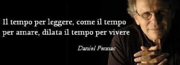 Copertina Con Frase Di Daniel Pennac Maestramarta