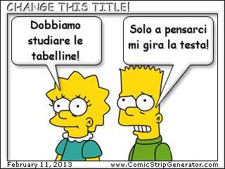 Tabelline Chepassione Maestramarta