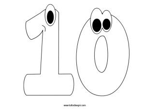 numero-10-da-colorare