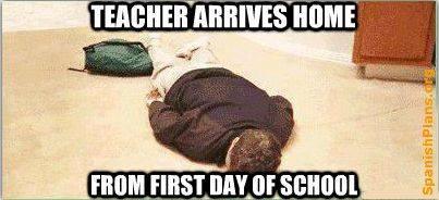 1° giorno scuola