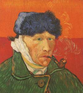 23. V. van Gogh 'Autoritratto'