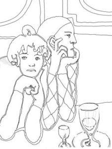 Picasso E Il Periodo Blu Classe 5a Maestramarta
