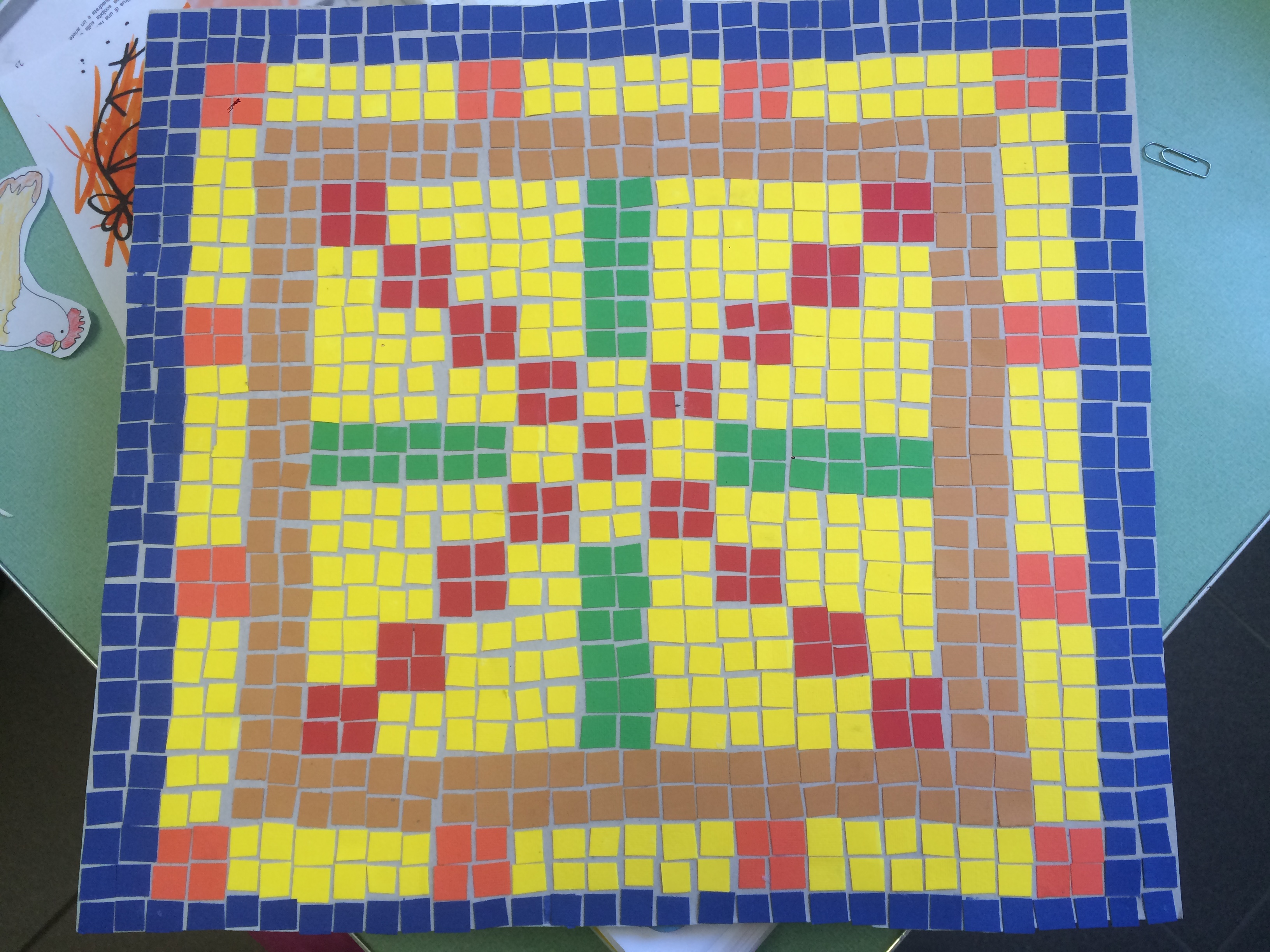 Come Costruire Un Mosaico mosaici romani classe 5a - maestramarta