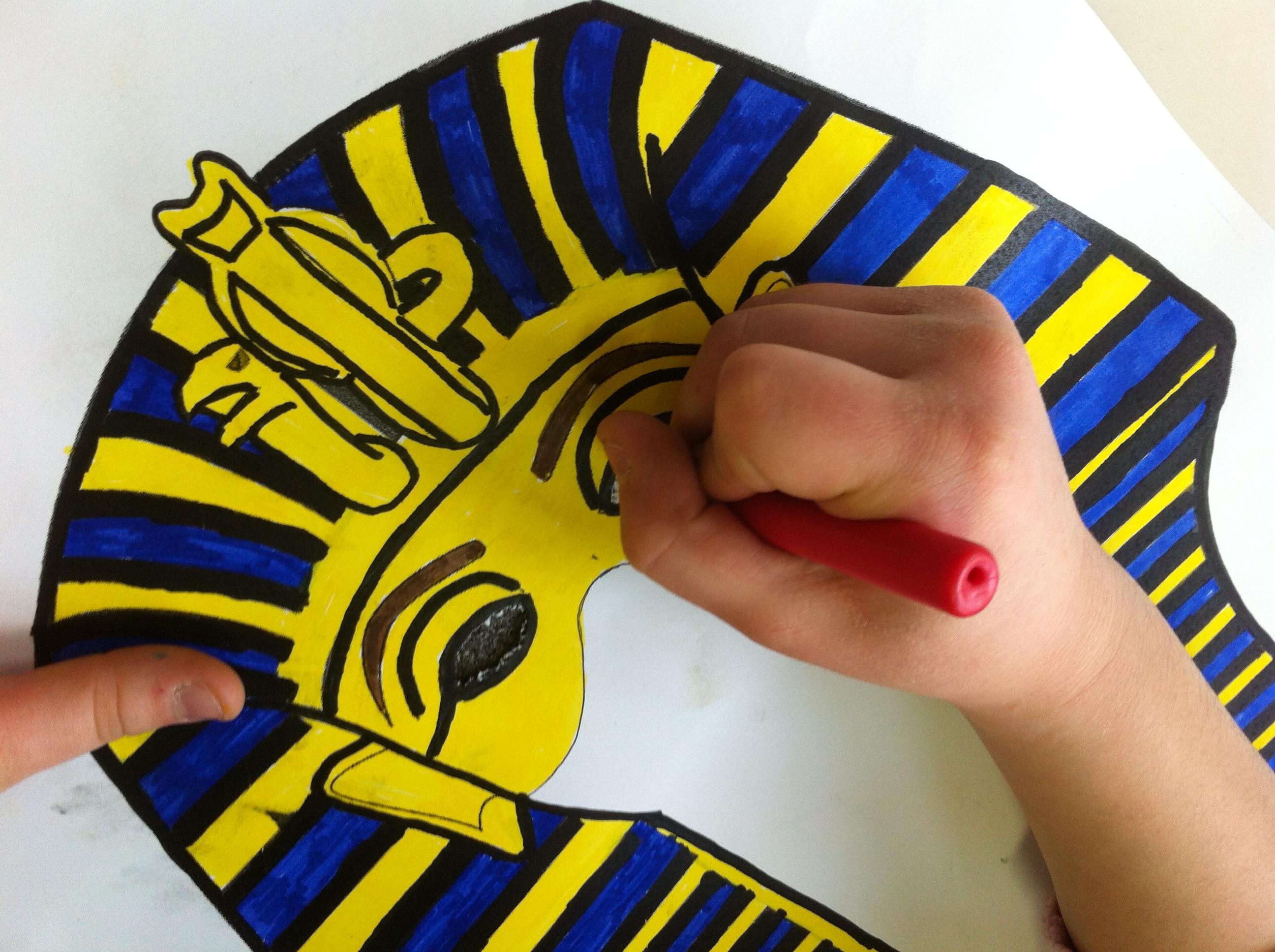 Le Maschere Del Faraone Classe 4a Maestramarta