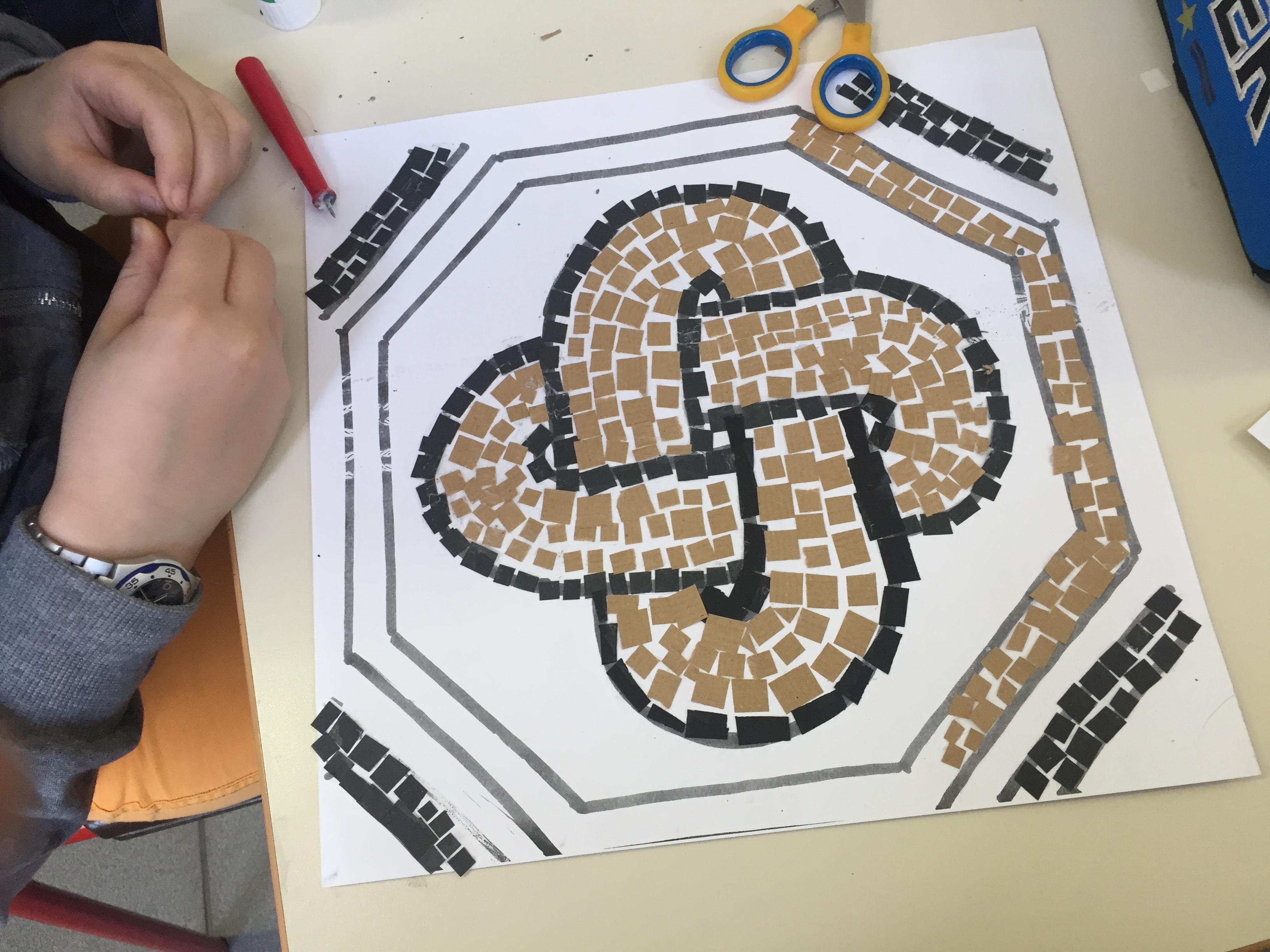 Mosaico Come Si Realizza i mosaici di santa giulia - maestramarta