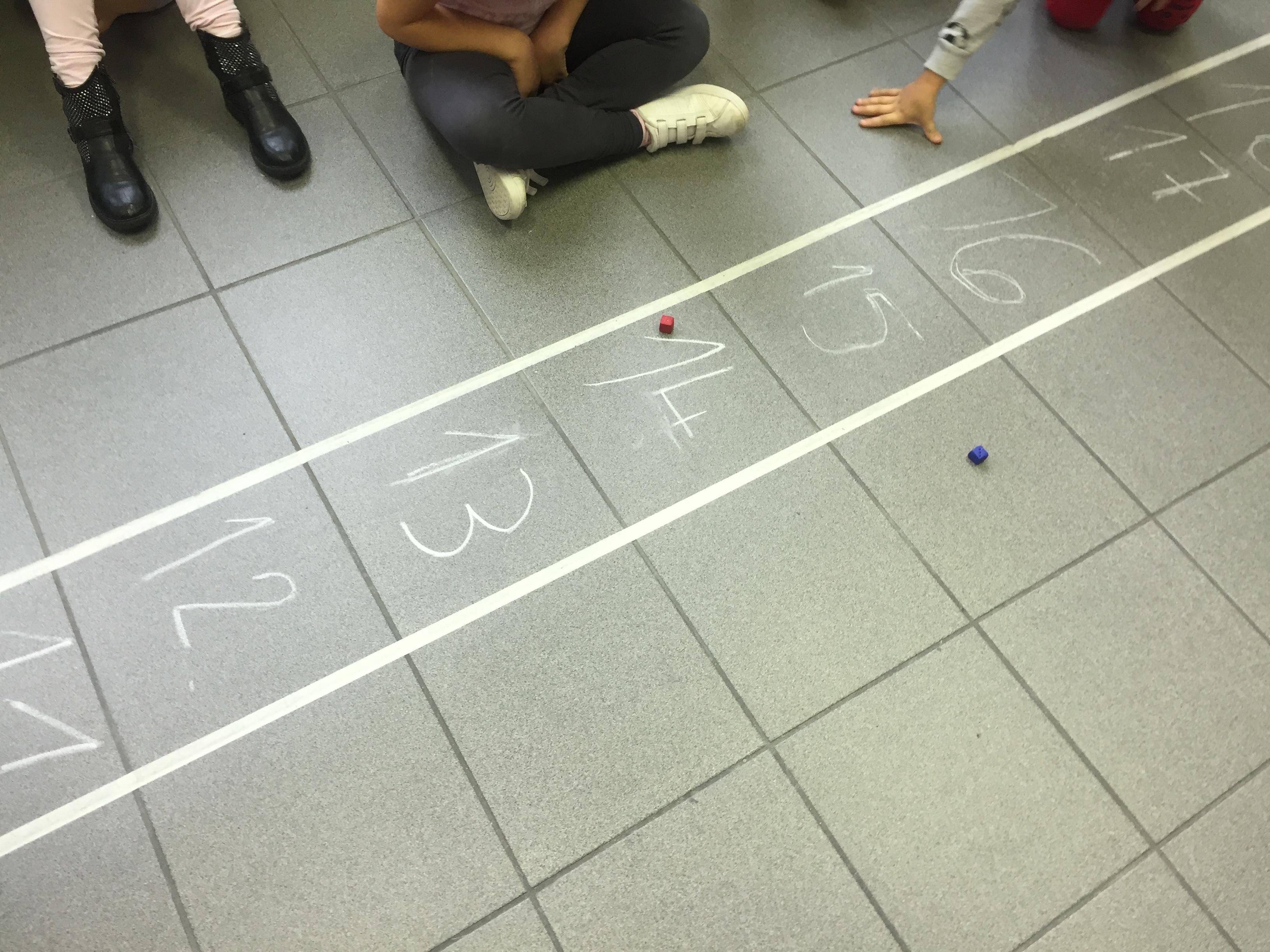 Il gioco della scala dei numeri fino a 20 maestramarta