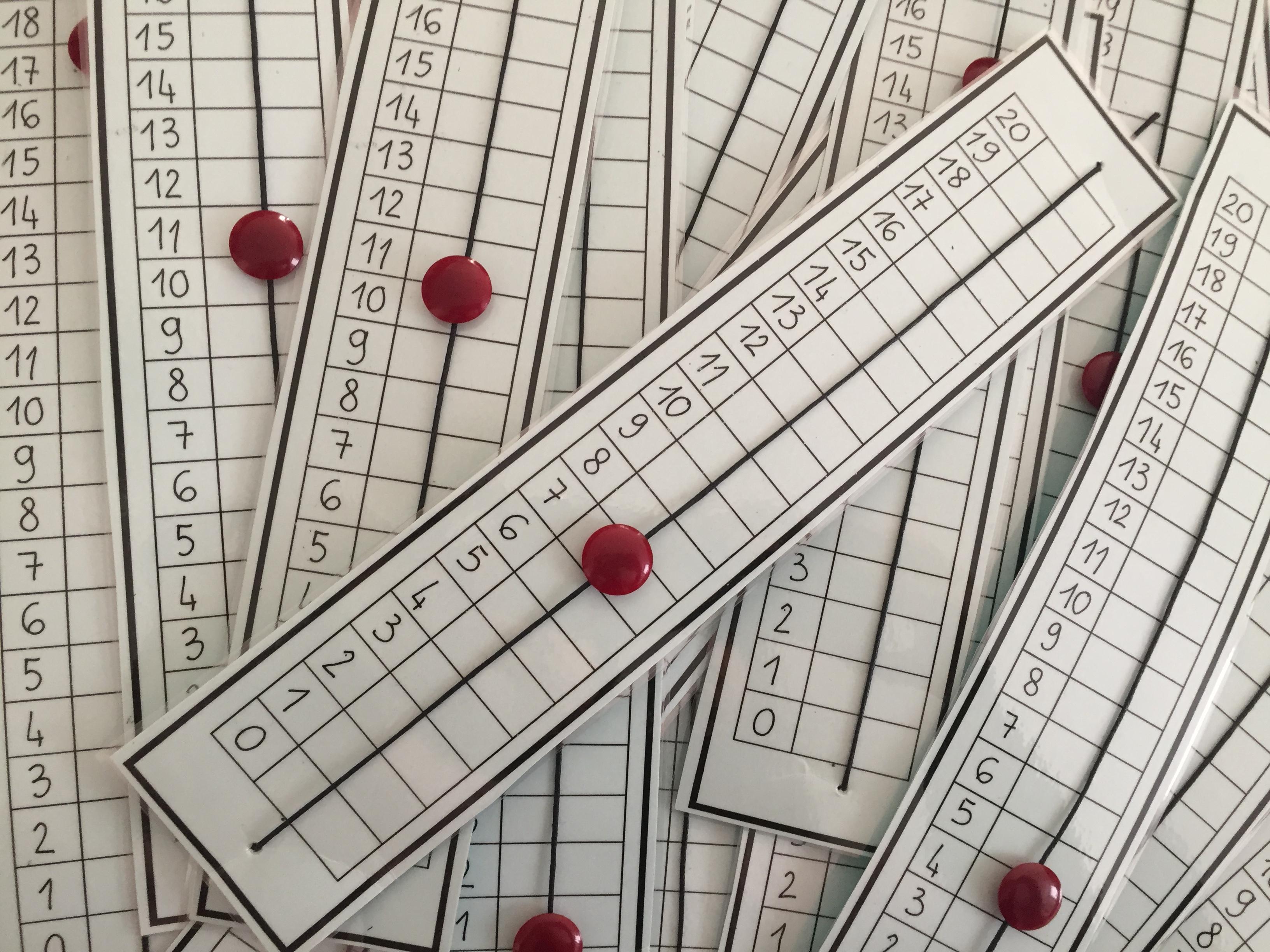 Linea dei numeri fino a 20 da stampare for Linea dei numeri da stampare