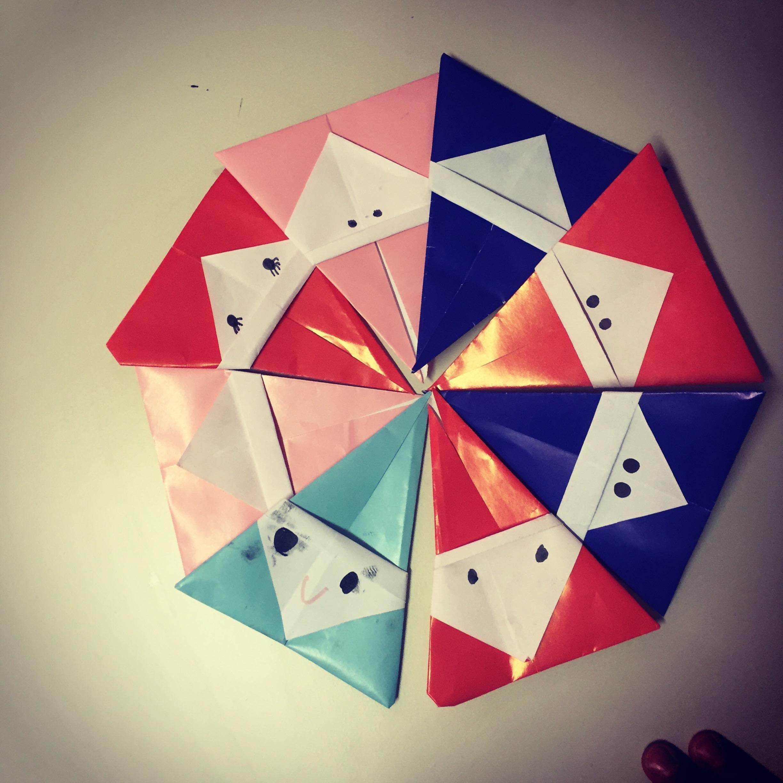 Buon Natale 1a.Buon Natale Con I Babbi Origami Classe 1a Maestramarta
